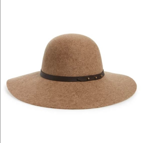 cdd6edc9 Nordstrom Accessories   Nwt Refined Wide Brim Wool Floppy Hat   Poshmark
